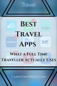 Best Free Travels Apps Pin