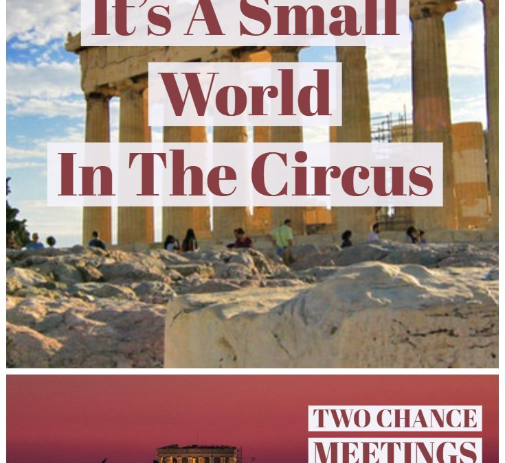 Story Time Pin images of athens greece with overlayed text its a small world in the circus
