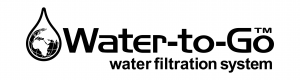 water to go water filtration system logo